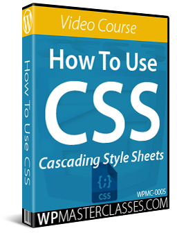 How To Use CSS - WPMasterclasses.com