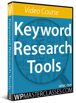 Keyword Research - WPMasterclasses.com