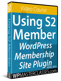 Using S2 Member - Video Course