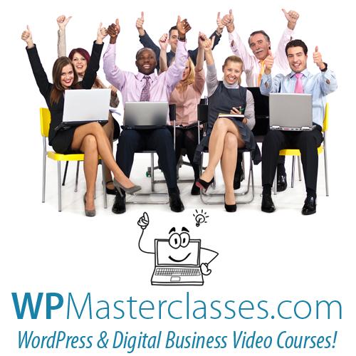 Get digital business skills training with WPMasterclasses.com