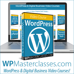 WordPress Digital Business Skills Training Tutorials Video Courses Site Launched
