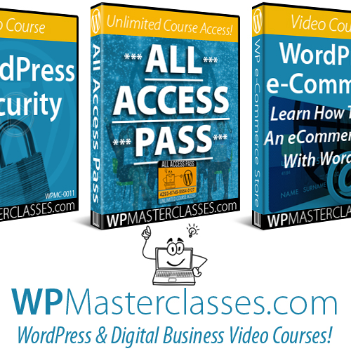 WordPress & Digital Business Video Courses - All Access Pass Membership - WPMasterclasses.com